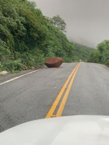 deslizamento   serra de teixeira 2 225x300 - NO SERTÃO: serra de Teixeira registra deslizamentos de pedra e terra após fortes chuvas