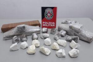 drogas santa luzia 300x200 - Polícia encontra quase cinco quilos de drogas escondidos dentro de caixa térmica