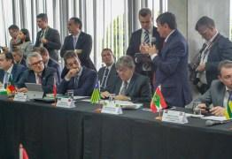 FÓRUM DE GOVERNADORES: João Azevêdo discute medidas para melhorar a situação econômica dos estados