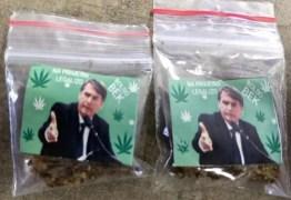 BOLSO BEK: menor é preso por venda de maconha com imagem de Bolsonaro