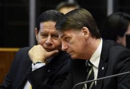 'MARCANDO TERRITÓRIO' – Bolsonaro sobe o tom contra Mourão: 'O presidente sou eu'