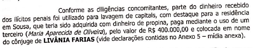 pag 3 mandado - OPERAÇÃO CALVÁRIO: Gaeco mira em parentes de Livânia Farias, em Sousa; bens móveis e imóveis teriam sido adquiridos com propina