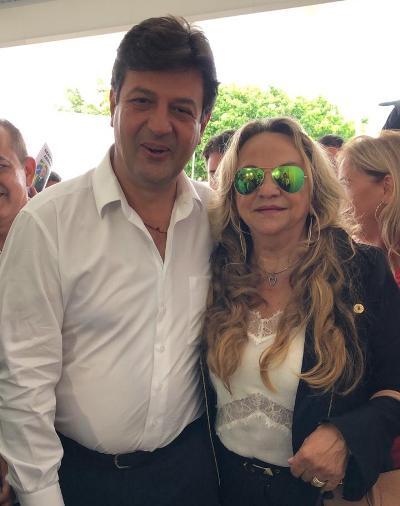 Em encontro com Drª Paula Francinete, ministro da Saúde promete novo veículo para saúde de Cajazeiras