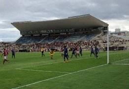 Campinense e Atlético-PB empatam pela partida de ida da semifinal do Paraibano