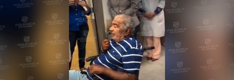 pinto do acordeon 1 - Pinto do acordeon emociona público ao apresentar-se em hospital - VEJA VÍDEO