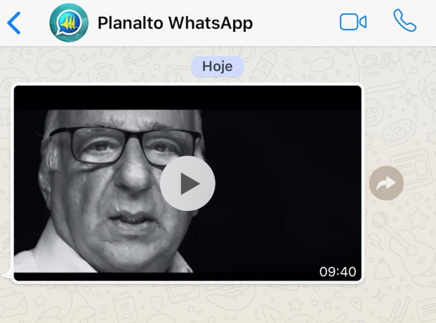 planalto whatsapp ditadura 868x644 - Planalto divulga vídeo em defesa do golpe militar de 1964 - ASSISTA