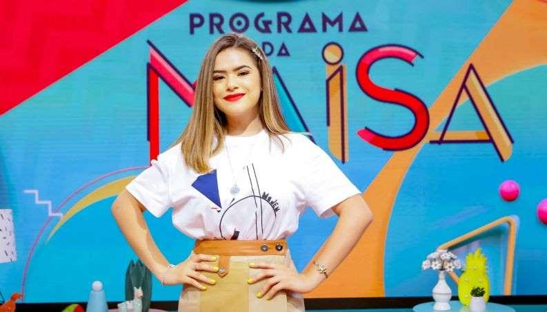 Maisa estreia programa e se torna apresentadora de talk show mais jovem em TV aberta