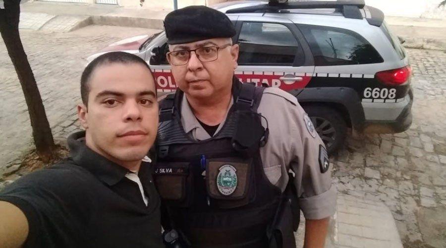 sargento policia militar pm joão batista silva infarto patos - PMs morrem de infarto no mesmo dia no sertão da Paraíba