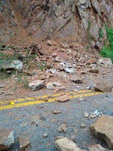 serra de teixeira   deslizamento 225x300 - NO SERTÃO: serra de Teixeira registra deslizamentos de pedra e terra após fortes chuvas
