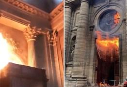 Ódio anti-católico: Doze Catedrais são atacadas e incendiadas: VEJA VÍDEOS