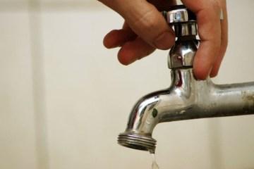 Cagepa suspende abastecimento de água em sete bairros de João Pessoa neste domingo