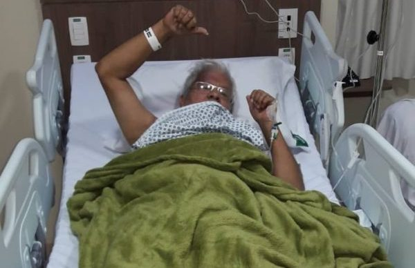 wellingtonfarias - Internado, jornalista Wellington Farias passa por biópsia na bexiga