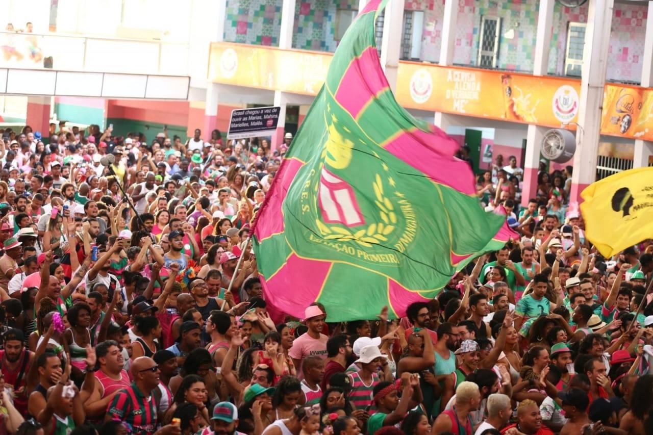 whatsapp image 2019 03 06 at 17.41.51 - ÍNDIOS, NEGROS E POBRES: Mangueira é a campeã do Carnaval 2019 do Rio de Janeiro - VEJA VÍDEO
