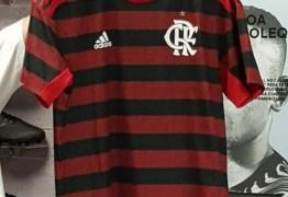 Listras mais finas e nas mangas: veja foto do novo primeiro uniforme do Flamengo