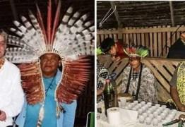 Fábio Assunção deixa aldeia no Acre após tratamento espiritual com chá de Ayahuasca