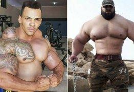 Hulk iraniano se prepara para encarar Hulk brasileiro