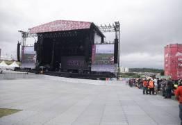 Chance de raio interrompe shows no Lollapalooza, que pode ser cancelado