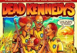 CRÍTICA A BOLSONARO: pôster de show de banda americana mostra família de palhaços armados e favela em chamas