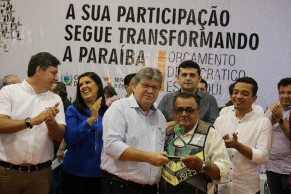 GOVERNADOR ODE4 567x378 - ODE EM CAJAZEIRAS: João Azevêdo entrega equipamentos e discute investimentos