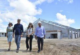 Luciano Cartaxo visita obras do CEI em Mangabeira e destaca a ampliação do ensino em Tempo Integral