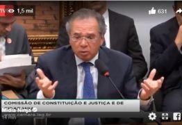 BATE BOCA: Paulo Guedes discute com deputados durante audiência na Câmara – ASSISTA AO VIVO