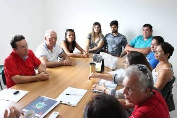 Reunião Rede Hoteleira 1 - Prefeita Márcia Lucena recebe representantes da rede hoteleira de Conde e fala das ações de combate à Malária na região