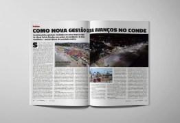 Avanços na gestão de Conde são destaque na edição de abril da Revista Nordeste