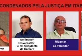 Atual vereador e três Ex-vereadores de Itabaiana são condenados por recebimento de dinheiro de funcionária fantasma; entenda o caso