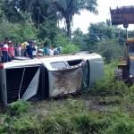 acidente - Paraibanos morrem em acidente no interior do Maranhão - IMAGENS FORTES