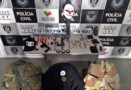 Policiais Militares são presos suspeitos de participar de roubos e sequestros de empresários na Paraíba