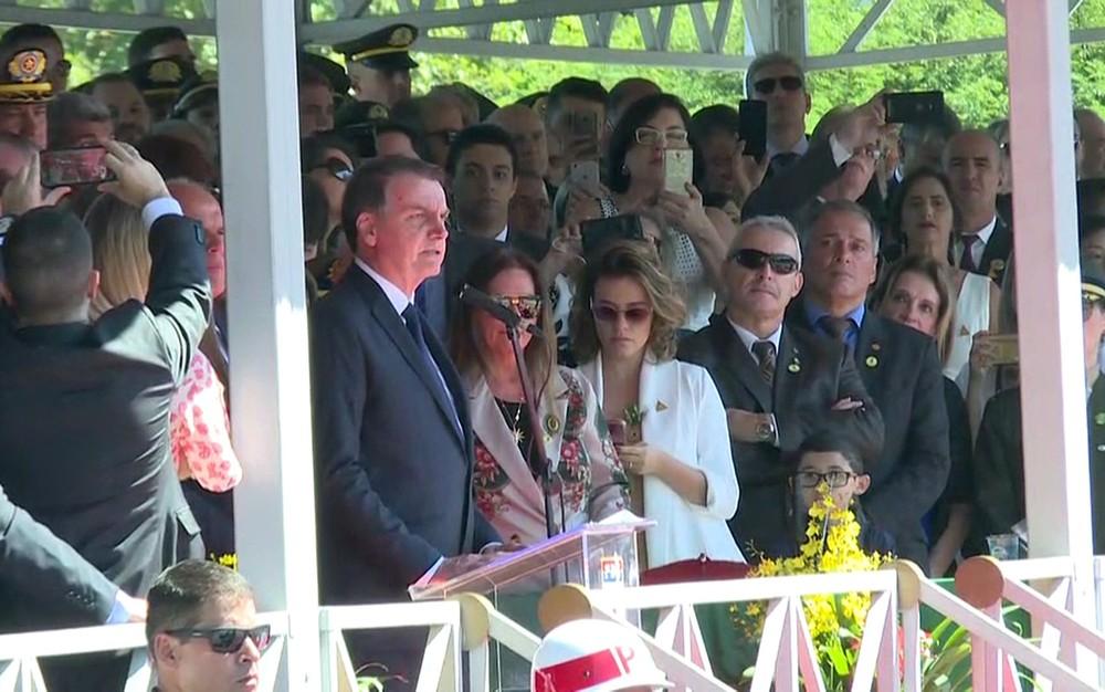 bolsonaro6 - 'Precisamos da mídia para que a chama da democracia não se apague', diz Bolsonaro