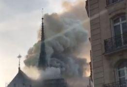 Catedral de Notre-Dame em Paris é atingida por incêndio de causas misteriosas
