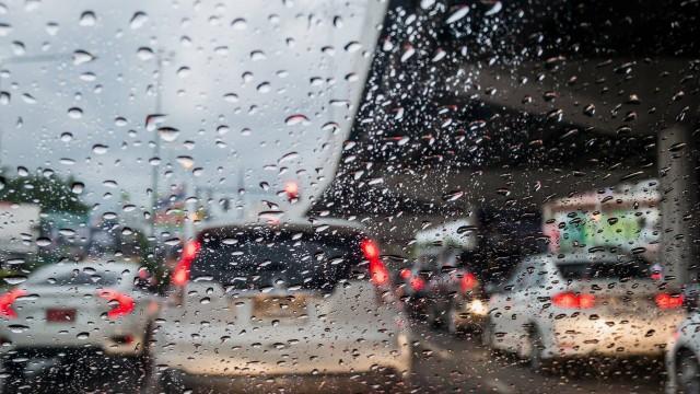 chuva - PRF faz alerta sobre cuidados ao dirigirdurante período chuvoso