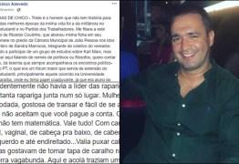 """Delegado paraibano que chamou mulheres petistas de """"safadas e rodadas"""" é exonerado"""