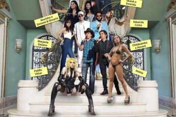 escada da fama montagem wide - Como é a escada mais famosa do pop brasileiro, já subida por Anitta, Pabllo, Kevinho, Emicida e Xororó?