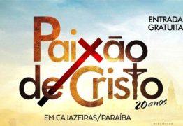 Paixão de Cristo promete reunir grande público em Cajazeiras