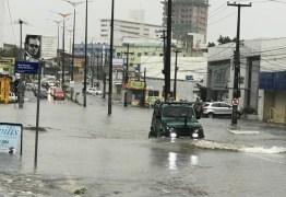 JOÃO PESSOA ILHADA: Chuvas fortes causam pontos de alagamento na Capital – VEJA VÍDEOS