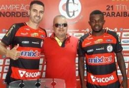 Campinense contrata três do Atlético-PB e acerta primeiras dispensas
