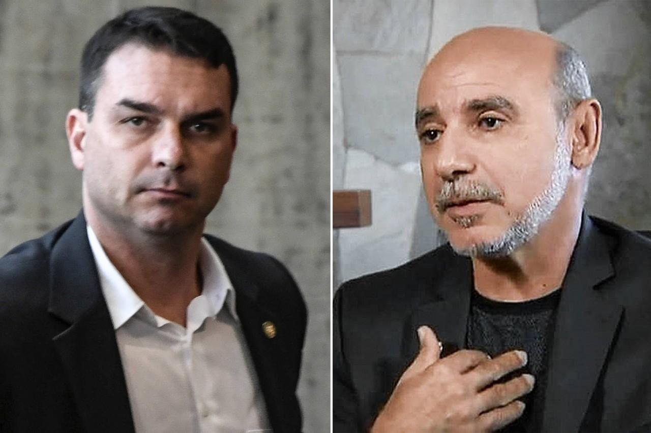 flavio queiroz copy - Justiça autoriza quebra de sigilo bancário de Flávio Bolsonaro e Queiroz
