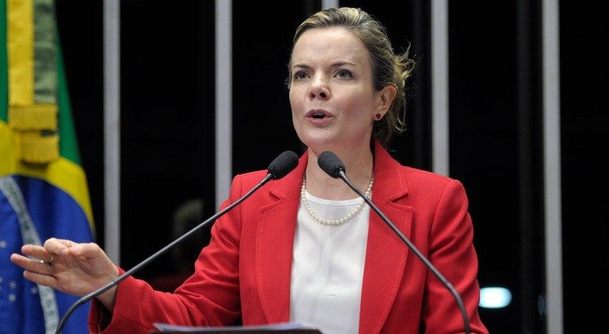 gleisi1 - Comissão Interventora do PT em João Pessoa terá validade até 31 de dezembro; LEIA NOTA