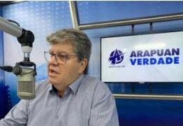 'RICARDO COUTINHO SERIA EXTRAORDINÁRIO PARA A CIDADE' Avalia João Azevedo sobre a disputa da prefeitura de João Pessoa