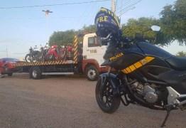 Operação que apreendeu 35 motocicletas no Sertão será ampliada para todas as regiões do Estado