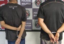 Após perseguição, dupla é presa com moto roubada em João Pessoa
