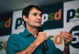 Romero Rodrigues deixa o PSDB sob promessas de liderar PSD paraibano