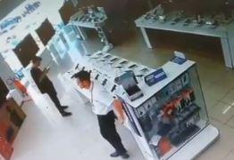 Polícia prende um suspeito de participar de assalto ao Magazine Luíza
