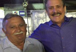 Tião Gomes lamenta a morte de João de Deus, ex-prefeito de Serraria e pai do atual gestor