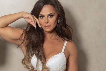 Viviane Araújo arranca suspiros em campanha de lingerie