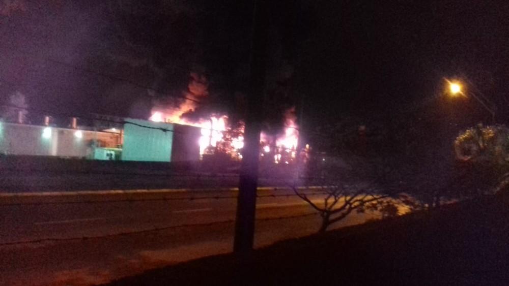 whatsapp image 2019 04 22 at 06.41.09 - Incêndio atinge fábrica de armas da Taurus - VEJA VÍDEO