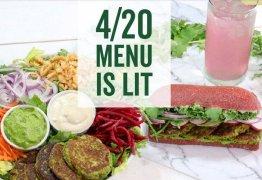 4:20: Restaurantes vão servir pratos com canabidiol para o 'dia da maconha'