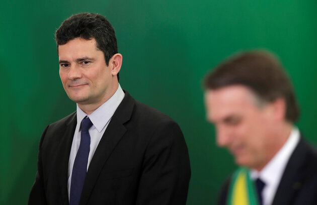 5cd97bb82100003100d0663a - 'INTERFERÊNCIA NA PF': STF abre inquérito para apurar denúncias de Moro contra Bolsonaro
